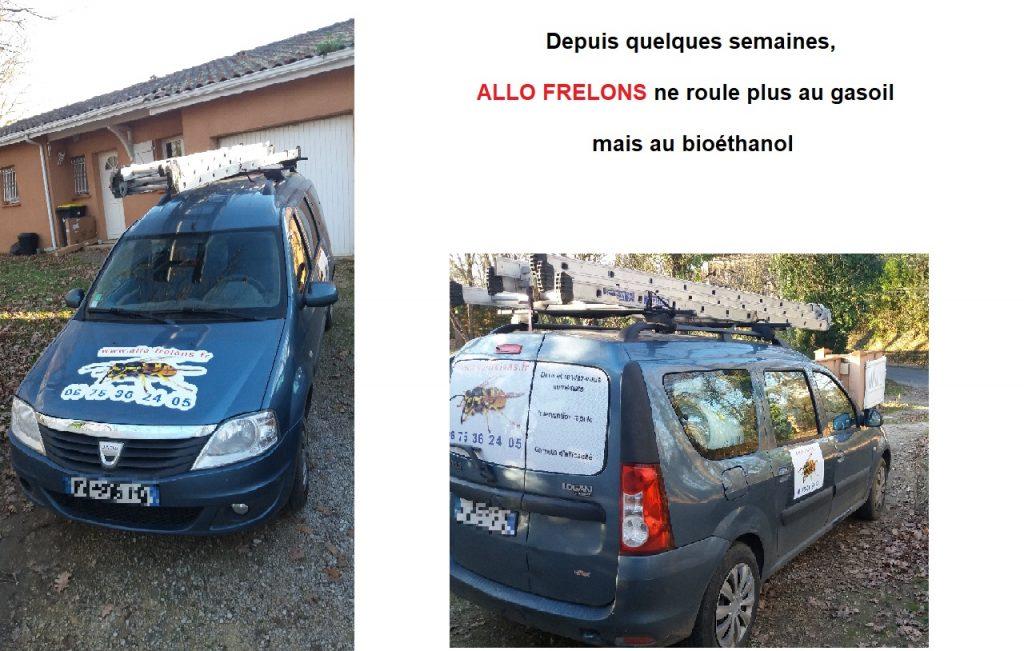 voiture allo frelons bioethanol 1024x651 - Retour temporaire des pesticides néonicotinoïdes : tout savoir en 5 points